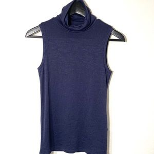 Banana Republic Blue Cowl Neck top. XS